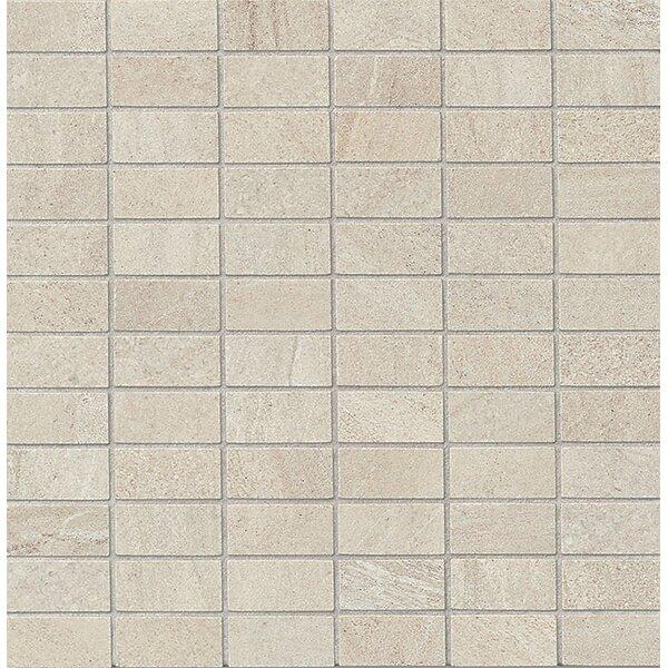Purestone 1 x 2 Porcelain Mosaic Tile in Grigio by Bedrosians