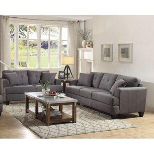 Glenadine 2 Piece Living Room Set by Ebern Designs