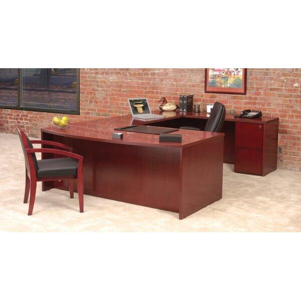 Luminary Series U-Shape Executive Desk by Mayline Group