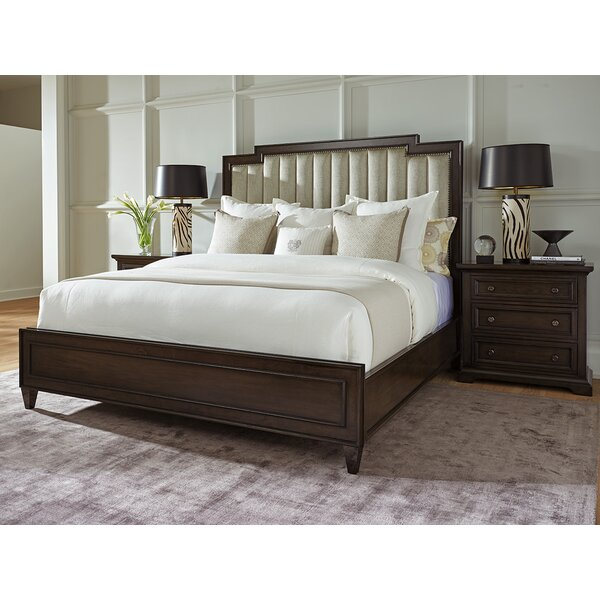 Brentwood Upholstered Platform Bed by Barclay Butera