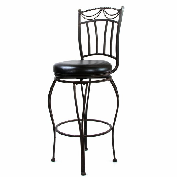 Franklyn 29 Swivel Bar Stool (Set of 2) by Bloomsbury Market