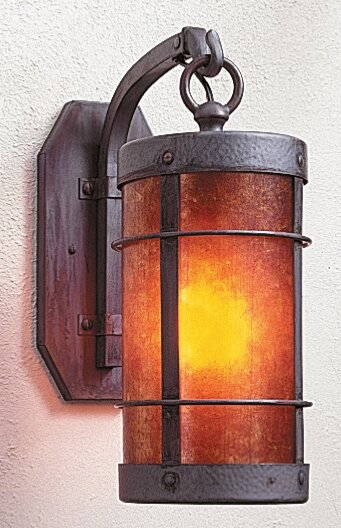 Valencia 1-Light Wall Sconce Arroyo Craftsman AYO1363