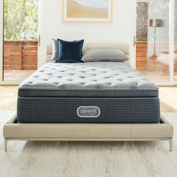 Beautyrest Silver 13 Medium Pillow Top Mattress and Box Spring by Simmons Beautyrest