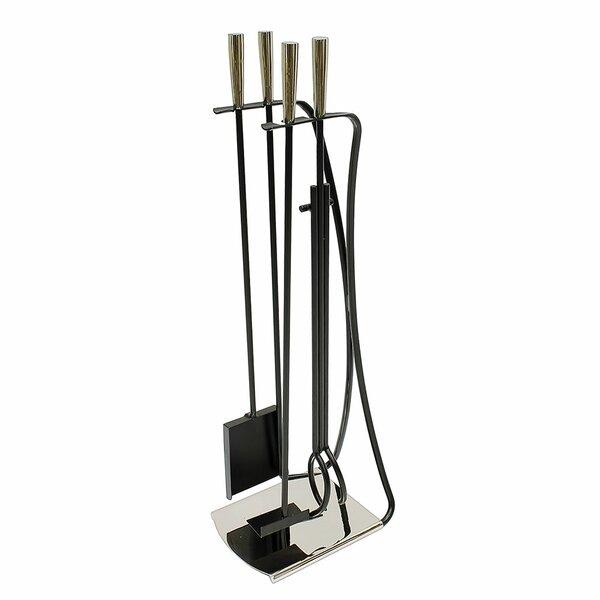 Park Avenue 5 Piece Iron Fireplace Tool Set by Minuteman International