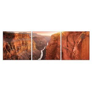 'Toroweap Dominion' Photographic Print Multi-Piece Image on Wrapped Canvas by Latitude Run