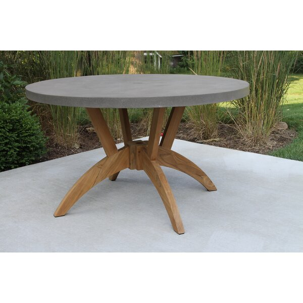 Caelan Teak Dining Table by Beachcrest Home