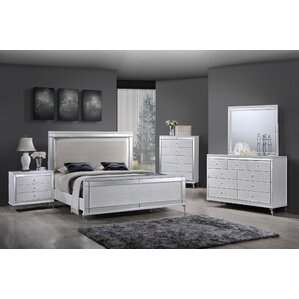 Belcourt White 5 Pc Queen Panel Bedroom - Queen Bedroom Sets Colors