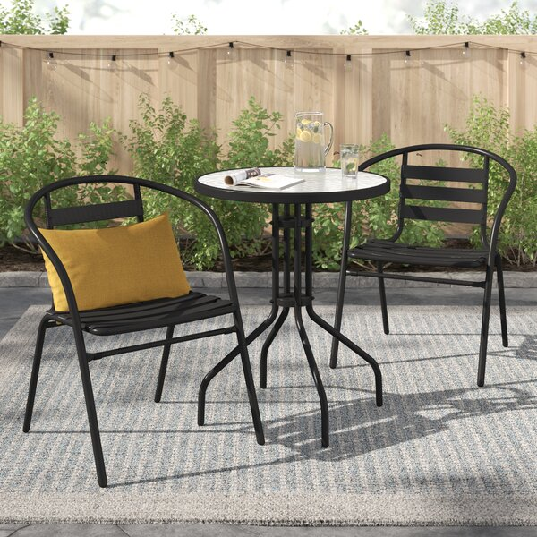 Rosston 3 Piece Bistro Set by Zipcode Design