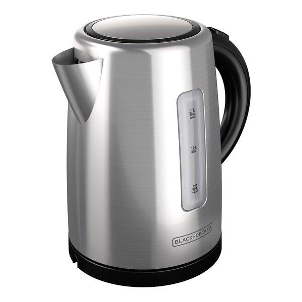 1.7-qt Stainless Steel Electric Tea Kettle by Black + Decker
