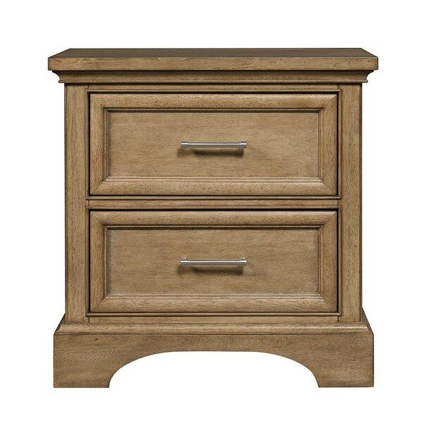Ione 2 Drawer Nightstand by Harriet Bee Harriet Bee