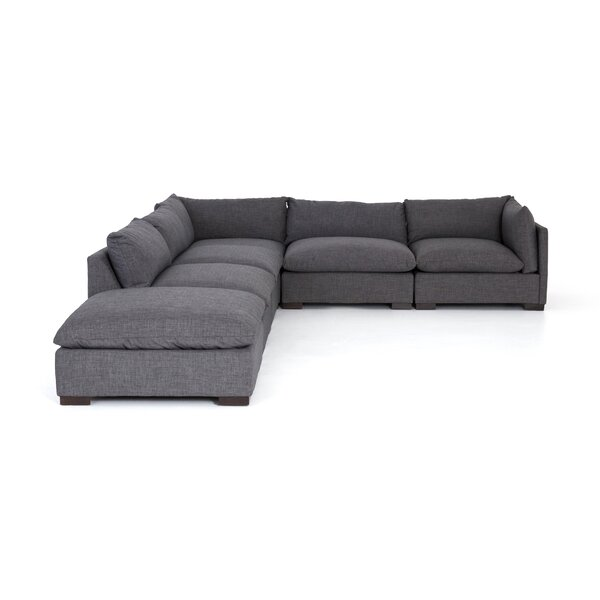 Southwold 5-Piece Sectional With Ottoman by Brayden Studio