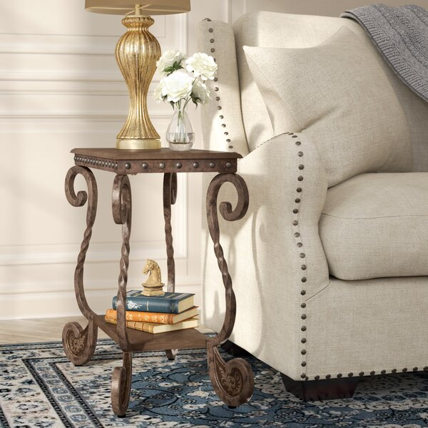 Wenner Chairside Table By Fleur De Lis Living