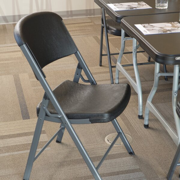 Classic Commercial Folding Chair (Set of 4) by Lifetime