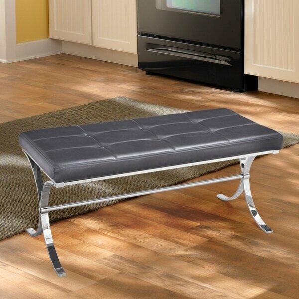Armaz Faux Leather Bench by Orren Ellis