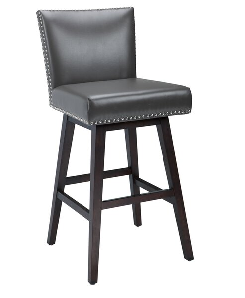 West Vintage 30 Swivel Bar Stool by Sunpan Modern