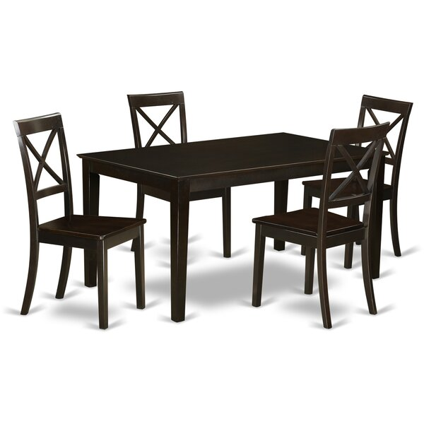 Cabos 5 Piece Dining Set By East West Furniture Discount