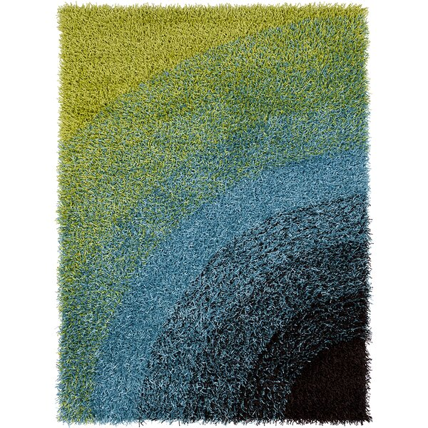 Milstead Green/Blue Area Rug by Latitude Run