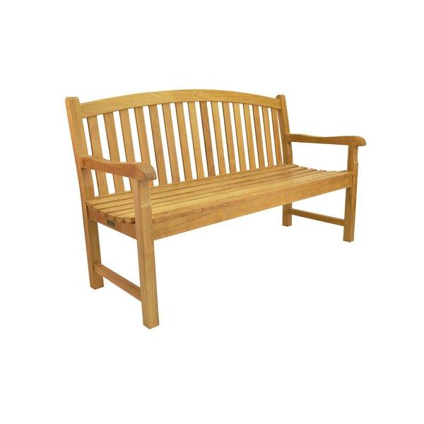 Chelsea Teak Garden Bench by Anderson Teak