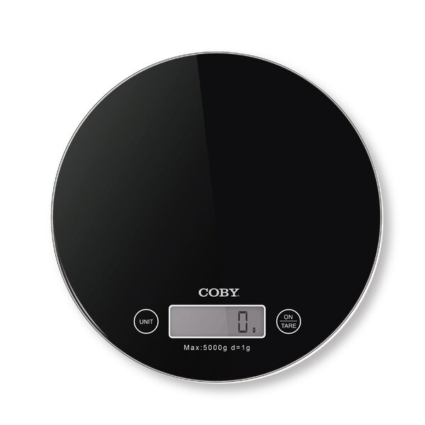 Gourmet Digital Kitchen Scale by COBY