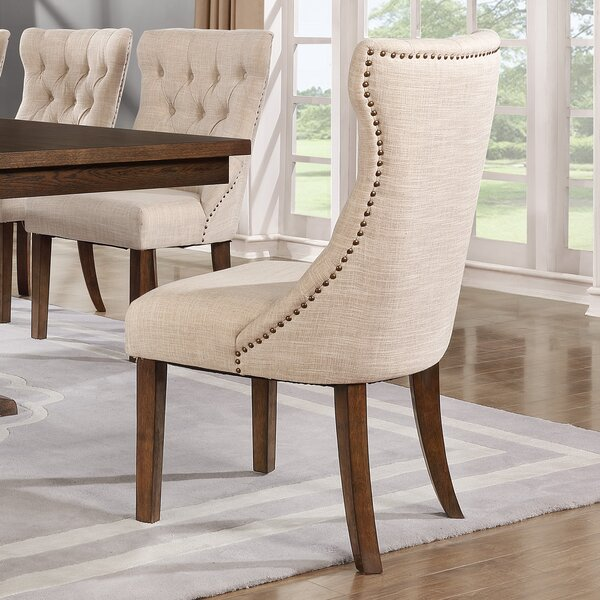 Seaton Upholstered Dining Chair (Set of 2) by Darby Home Co