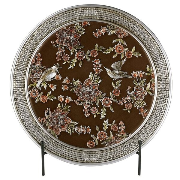 Frier Decorative Plate with Stand by Astoria Grand
