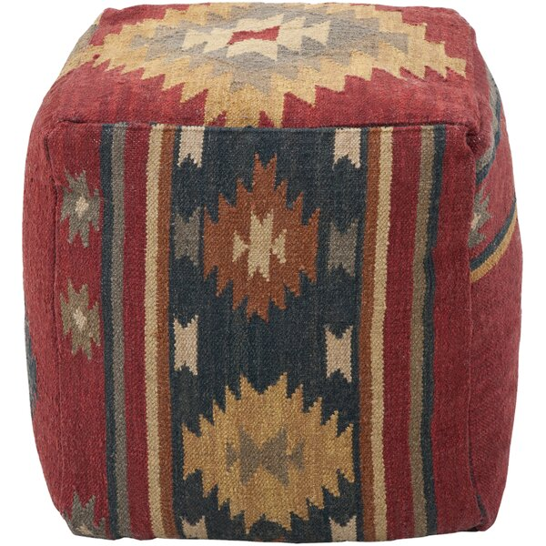 Elissa Wool Pouf by Mistana