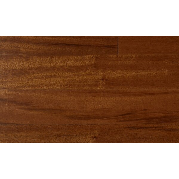 3-1/4 Engineered Golden Tigerwood Hardwood Flooring in Red by IndusParquet