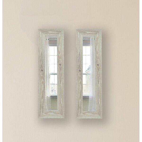 2 Piece Pierpont Antique Panels Mirror Set (Set of 2) by Gracie Oaks