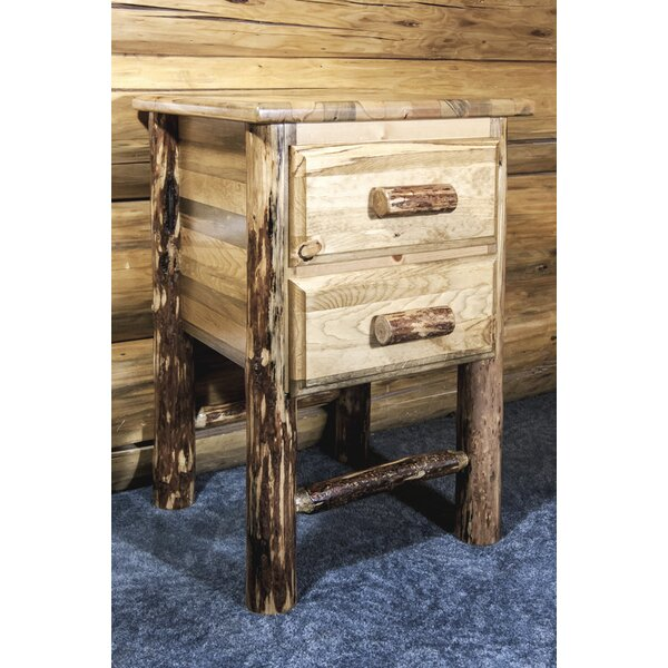 Ayansh 2 Drawer Nightstand by Foundry Select