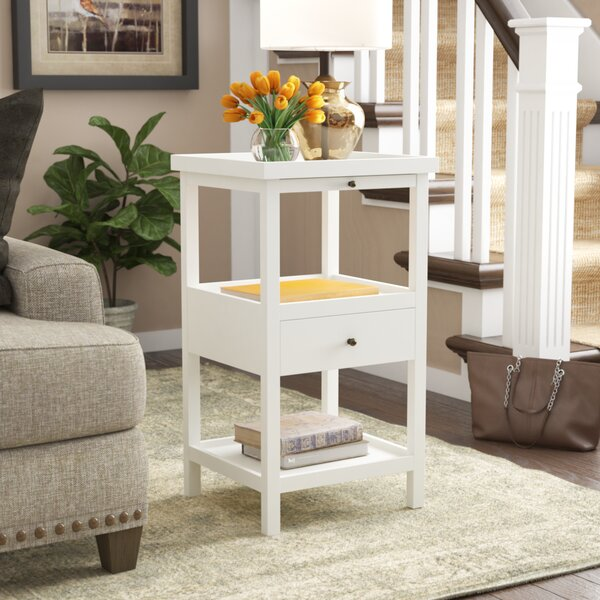 Merrimac End Table With Storage By Breakwater Bay