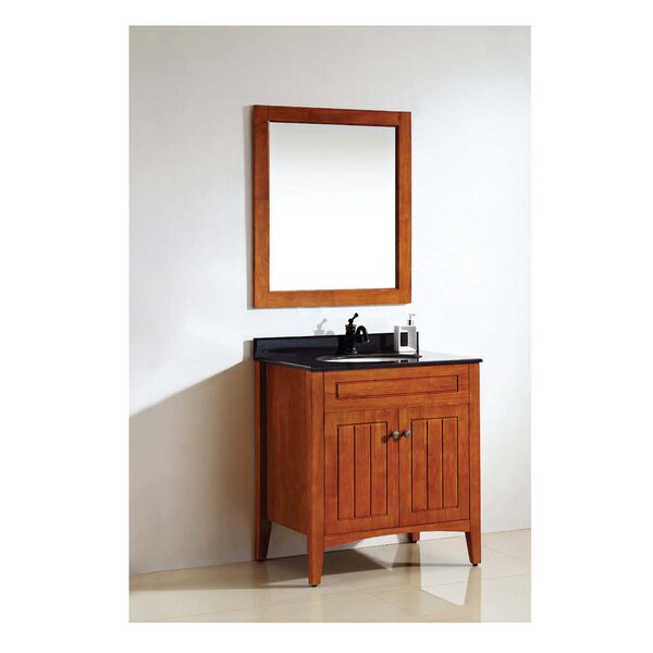 American Solid Wood and Plywood Frame Bathroom / Vanity Mirror by Dawn USA