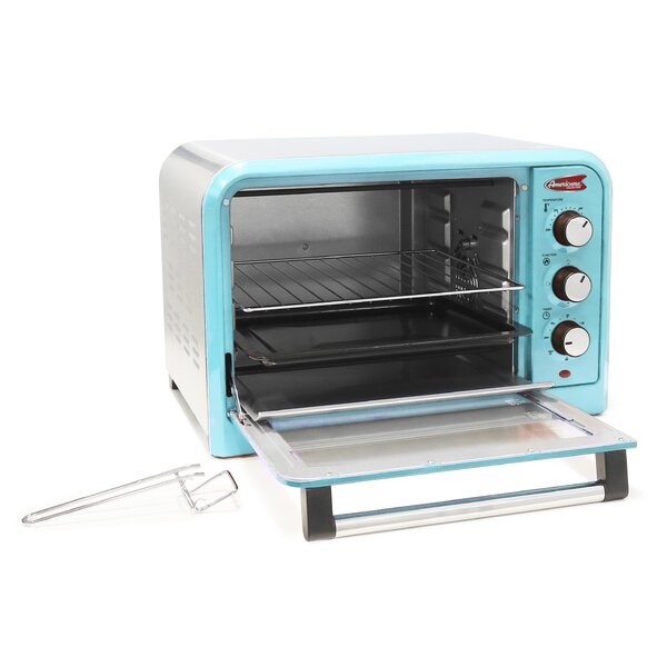 0.91 Cu. Ft. 6-Slice Retro Toaster Oven by Elite by Maxi-Matic