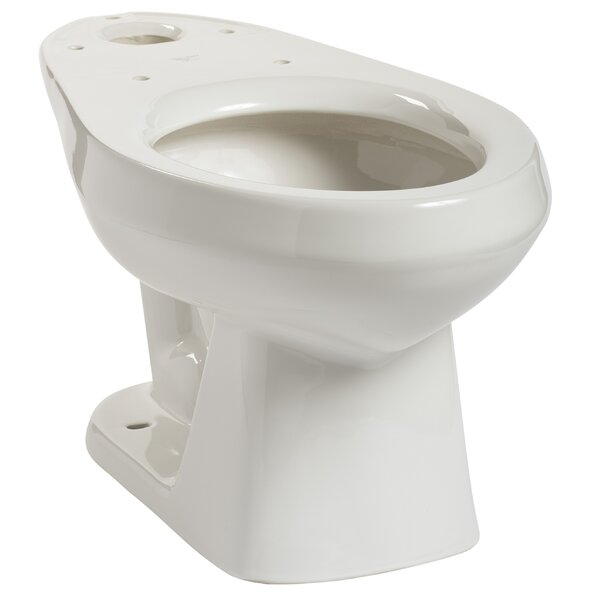 Quantum 1.28 GPF Elongated Toilet Bowl by Mansfield Plumbing Products