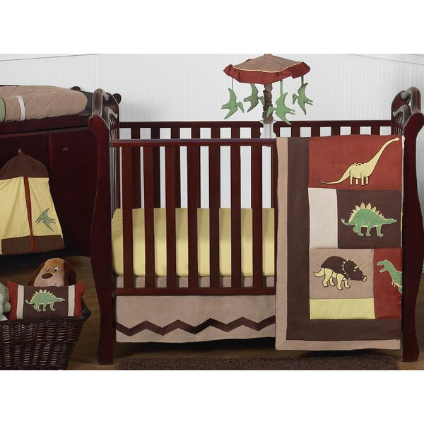 Dinosaur Land 11 Piece Crib Bedding by Sweet Jojo Designs