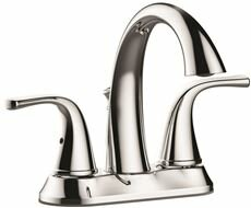 Deck Mounted Centerset Lever Bathroom Faucet with Drain Assembly by Premier Faucet