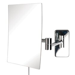 Wall Makeup Mirror jerdon wall mount rectangular makeup mirror & reviews | wayfair