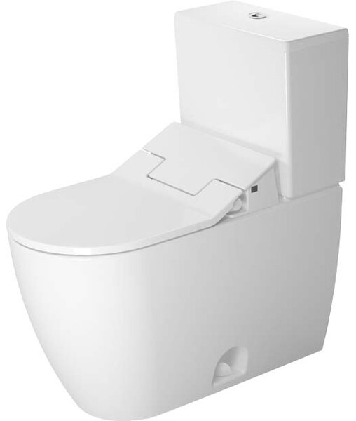 ME by Starck Elongated Two-Piece Toilet (Seat Not Included) by Duravit