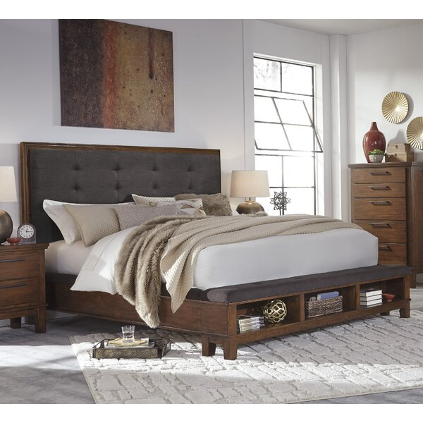 Hylan Upholstered Storage Standard Bed by Brayden Studio