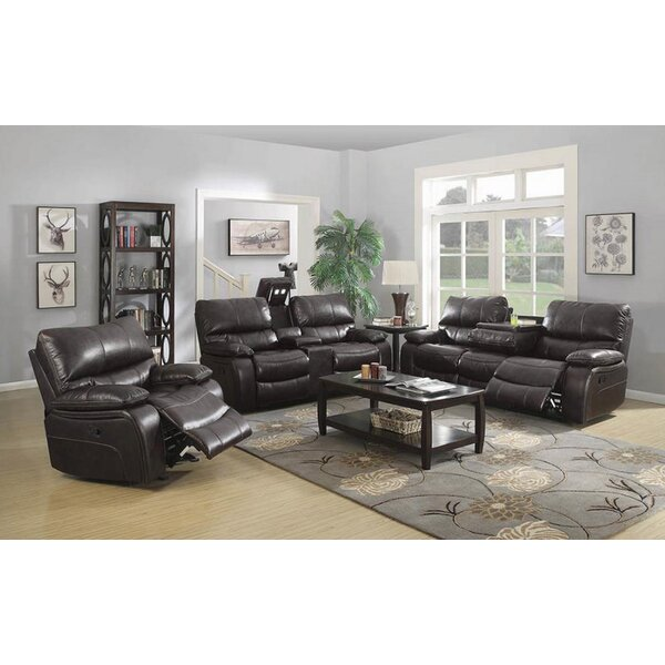 Neagle 3 Piece Reclining Living Room Set by Red Barrel Studio