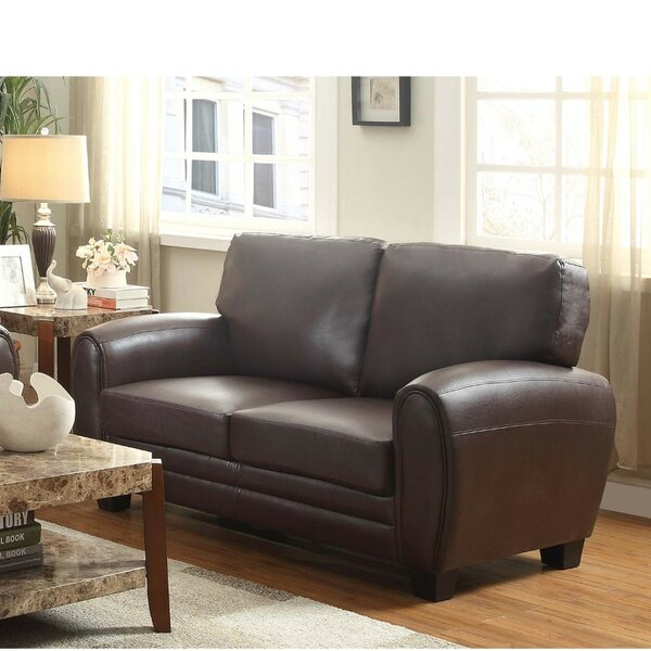 Shop Priceless For The Latest Strasburg Reclining Loveseat by Winston Porter by Winston Porter