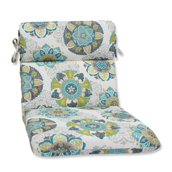Saxon Indoor/Outdoor Chaise Lounge Cushion by Zipcode Design