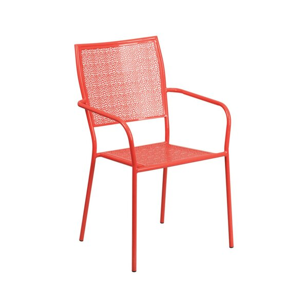 Damari Stacking Patio Dining Chair by Wrought Studio