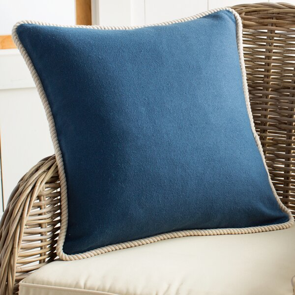 Rope Border Pillow Cover by Birch Lane™
