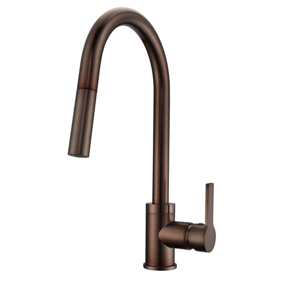 Fenton Pull Down Single Handle Kitchen Faucet by Barclay