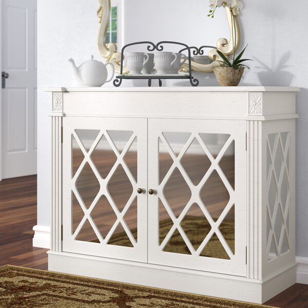 Cheetham Mirrored 2 Door Accent Cabinet By Darby Home Co