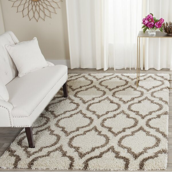 Melvin Brown/Beige Area Rug by Charlton Home