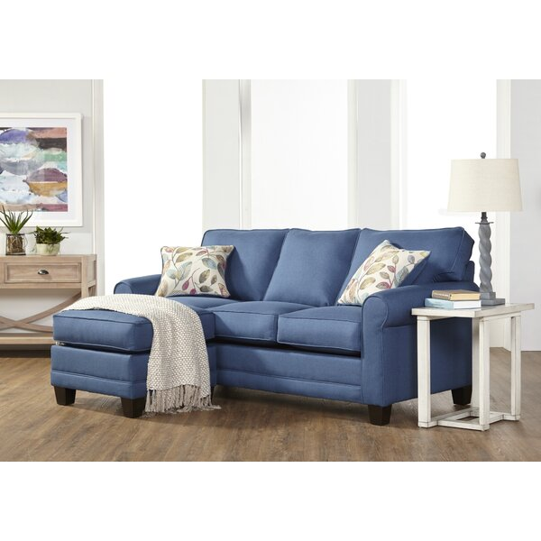 Ndayiseng Right Hand Facing Sectional with Ottoman by Winston Porter