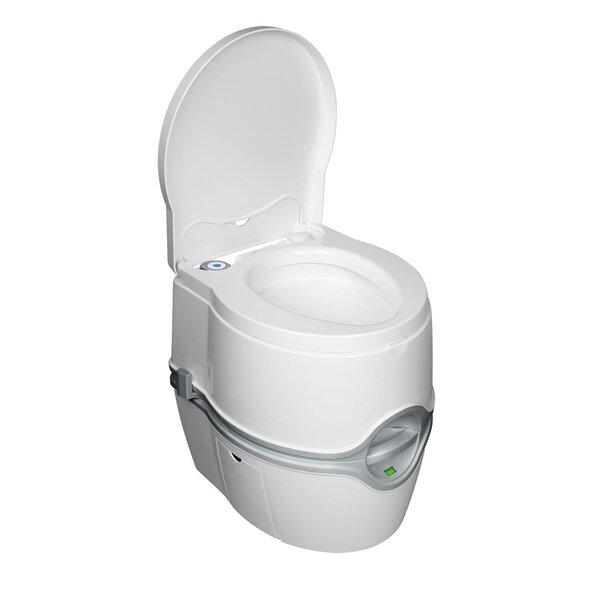 Marine Porta Potti Curve Portable Round One-Piece Toilet by Thetford
