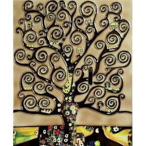 'Tree of Life' by Gustav Klimt Wall Art by Tori Home