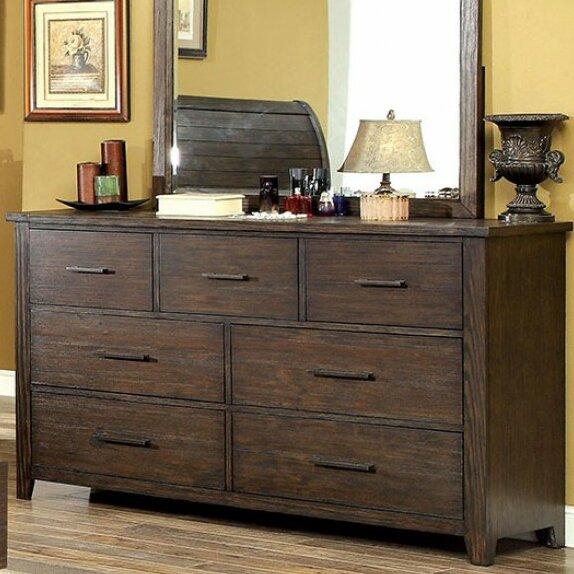 Mickie 7 Drawer Dresser by Loon Peak